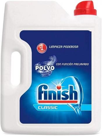 DETERGENTE POLVO FINISH CALGONIT 2,5 KG.