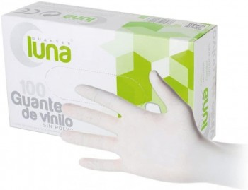 GUANTE VINILO (CON POLVO)