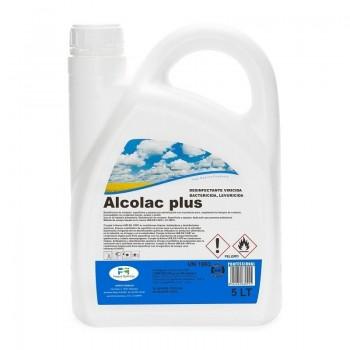 DESINFECTANTE VIRUCIDA ALCOLAC PLUS 5 LTS.