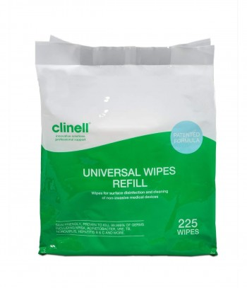 CLINELL UNIVERSAL WIPES REFILL 225 (RECAMBIO TOALLITAS)