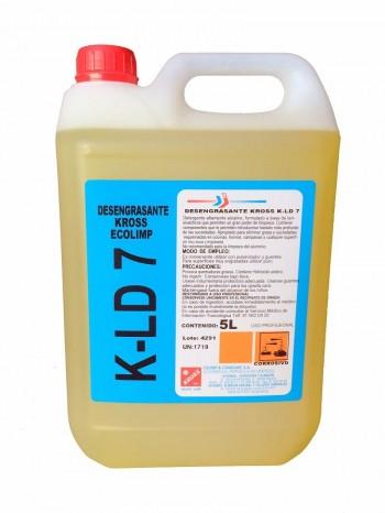 DESENGRASANTE KROSS KL-D7 (5L.) ECOLIMP